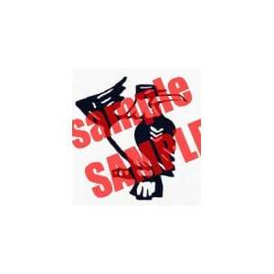 SARGEANT EAGLE BIRD WHITE VINYL DECAL STICKER Everything