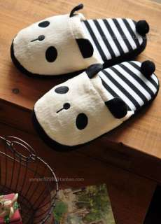 With Tail Women Slippers Warm Soft Adorable Winter Girl Gift