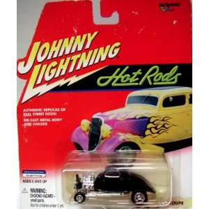 JOHNNY LIGHTNING HOT RODS 1934 COUPE 164 DIE CAST METAL
