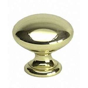 Berenson 9950 103 P Plymouth Polished Brass Knobs Cabinet