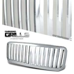 Ford F250 F350 Super Duty Truck 05 06 07 Vertical Style Grille Chrome