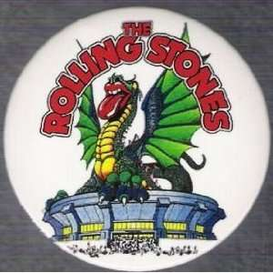 Rolling Stone 3 Rock N Roll Dragon Magnet Everything