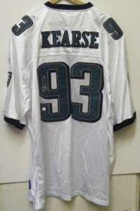 JEVON KEARSE SIGNED AUTOGRAPHED EAGLES JERSEY WITH COA