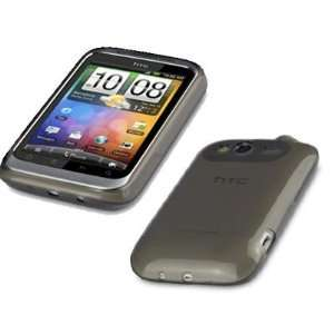 Palace   Black Gel skin case cover pouch holster for HTC Wildfire S