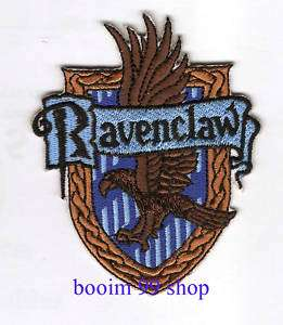 harry potter Ravenclaw EMBROIDERED Iron Patch T Shirt
