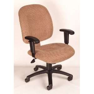 Mid Back Ergonomic Task Chair with Adjustable Arms