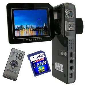 with a 2.5 TFT LCD Monitor (Free 16GB SDHC Card)