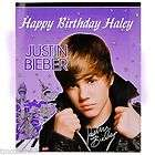 Justin Bieber edible cake image topper  1 4 sheet items in TASTY
