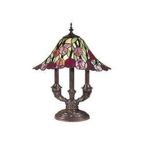 Dale Tiffany Rose Bud 2 Light Table Lamp TT100675