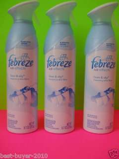 NEW Febreze Air effects TURQUOISE SEA & SHIMMER