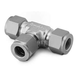 Stainless Steel Swagelok Tube Fitting, Union Tee