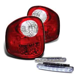 Eautolights 97 03 Ford F150 Flareside LED Tail Lights + Bumper Fog