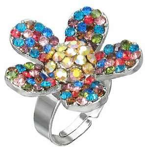 Stainless Steel Jewellery Shop   Modern Free Size Fashion Multi Gem