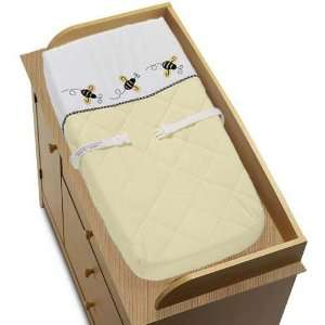 Bumble Bee Changing Pad Cover Baby