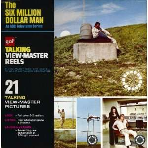 The Six Million Dollar Man GAF Talking View Master Reels