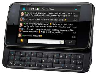 New Nokia N900 32GB 3G GPS 5MP WIFI Qwerty Unlocked Cell Phone Black