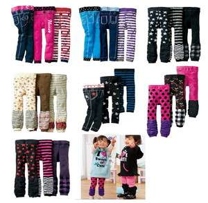 New kids toddler baby girl boy leggings trousers