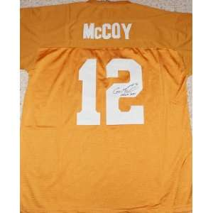Colt McCoy signed autographed authentic jersey Univ of