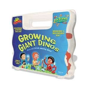 Scientific Explorers Growing Giant Dinos Science Kit Toys & Games