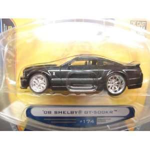 Jada Dub City Big Time Muscle Black 2008 Shelby GT 500KR 1
