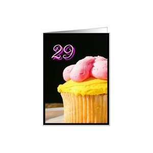 Happy 29th Birthday muffin Card Toys & Games