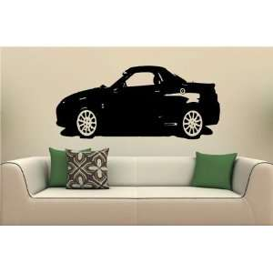 Wall MURAL Vinyl Decal Sticker Car MG TF S. 1644