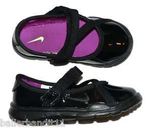 Nike Mary Jane 3 toddlers girls shoes new black