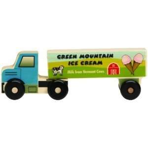 Wooden Semi Truck Ice Cream   8 Long Toys & Games