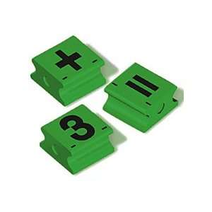Jumbo Numbers and Math Symbols Stamps Toys & Games