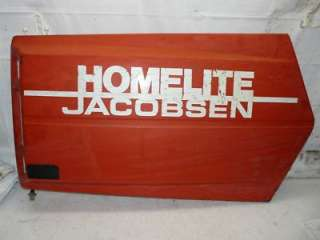 Jacobsen GT16H Tractor Left Side Engine Panel