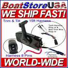 MERCURY 88688A84 QUICKSILVER 3000 BLACK TOP MOUNT BOAT REMOTE CONTROL