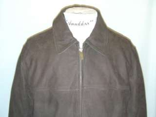 NWT Eddie Bauer Leather Journeyman Bomber Jacket M 2XL