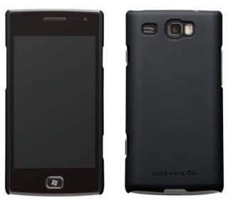Case Mate Barely There Case for Samsung Focus Flash SGH i677   Black