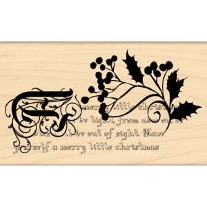 Penny Black Rubber Stamp 3X5 Merry Little Christmas