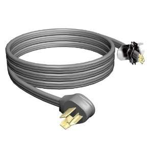 Stanley 31902 6 Foot 3 Wire 30 Amp Power Supply Replacement Cord, Grey