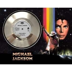 Michael Jackson Smooth Criminal Framed Silver Record A3 Electronics