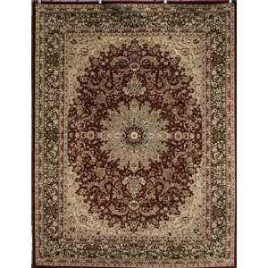 Superior Rugs Red Rug   feraghan4018red   3 Round