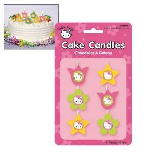 Hello Kitty Mini Cake Candles (6 count)