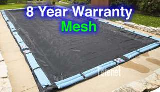 Arctic Armor Mesh Winter Cover In Ground Pool 8 Year