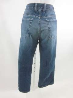 You are bidding on LUCKY BRAND Cropped Denim Jeans size 8 29.
