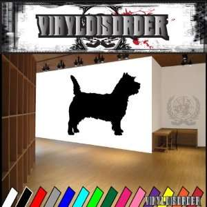 Dogs Terrier Cairn Terrier Vinyl Decal Wall Art Sticker