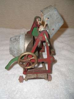 Antique Cast Iron Jaeger Kenton Cement/Concrete Mixer Toy