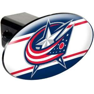 Columbus Blue Jackets NHL Trailer Hitch Cover Everything