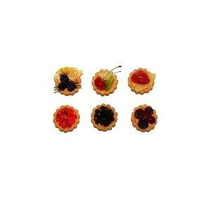 MINI FRUIT TARTS 6 PACK Fake Food