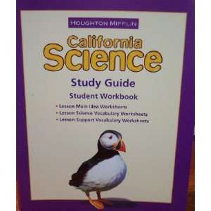 Science Study Guide Consumable Level 3 Houghton Mifflin