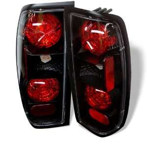 1998 2000 Nissan Frontier Black SR Altezza Tail Lights Automotive