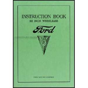 1934 Ford V8 Car & Pickup Owners Manual Reprint Ford