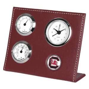 South Carolina Gamecocks Garnet Weather Clock Sports