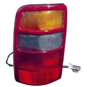 2002 03 GMC YUKON DENALI TAILLIGHT, DRIVER SIDE