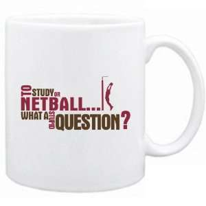 New  To Study Or Netball  What A Stupid Question